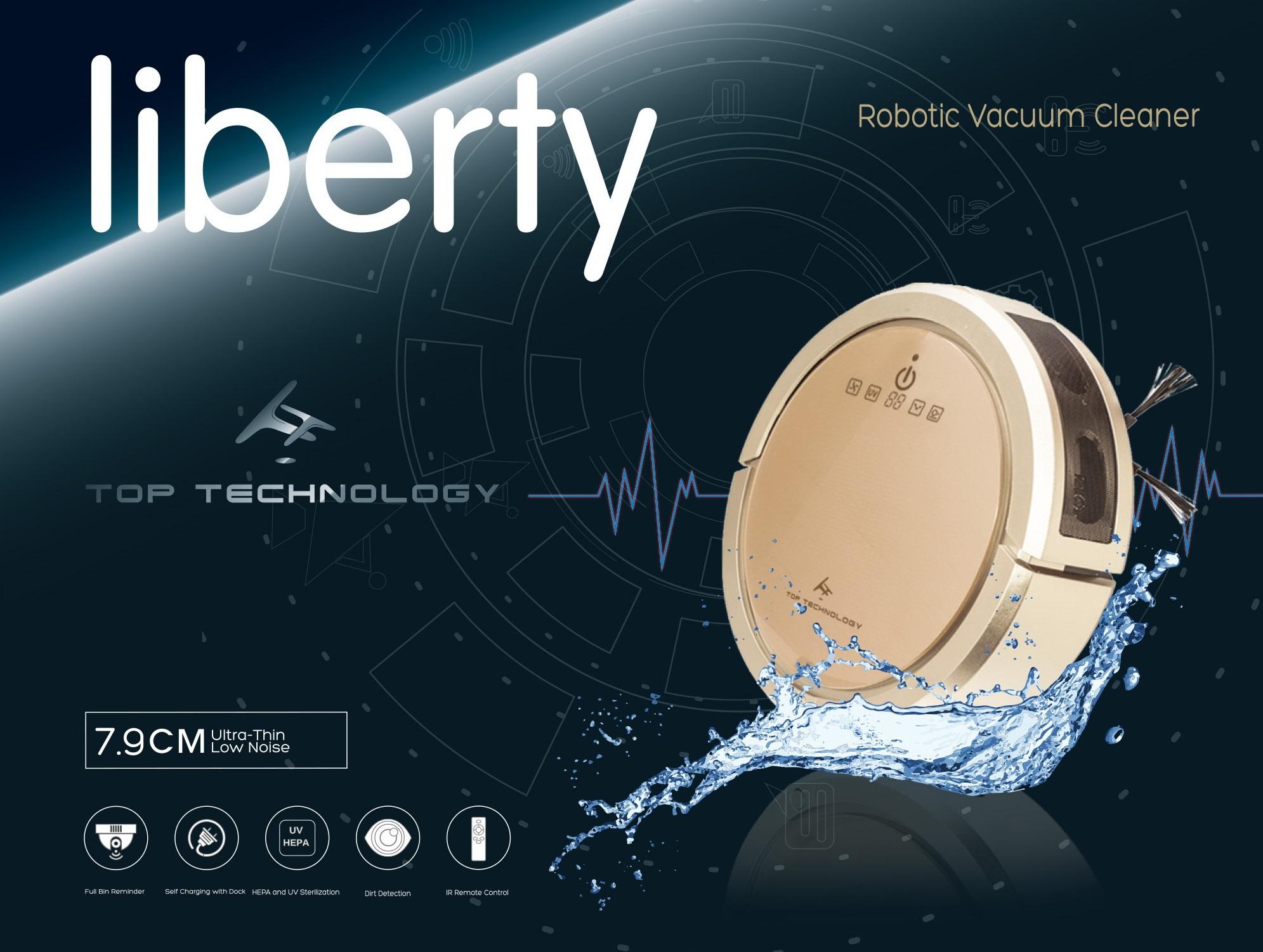 Робот-пылесос Liberty 5 в 1