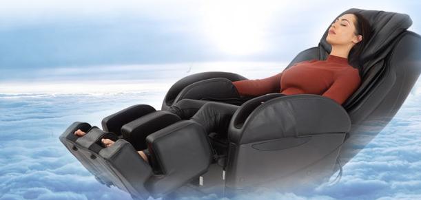 Расслабление в массажном кресле