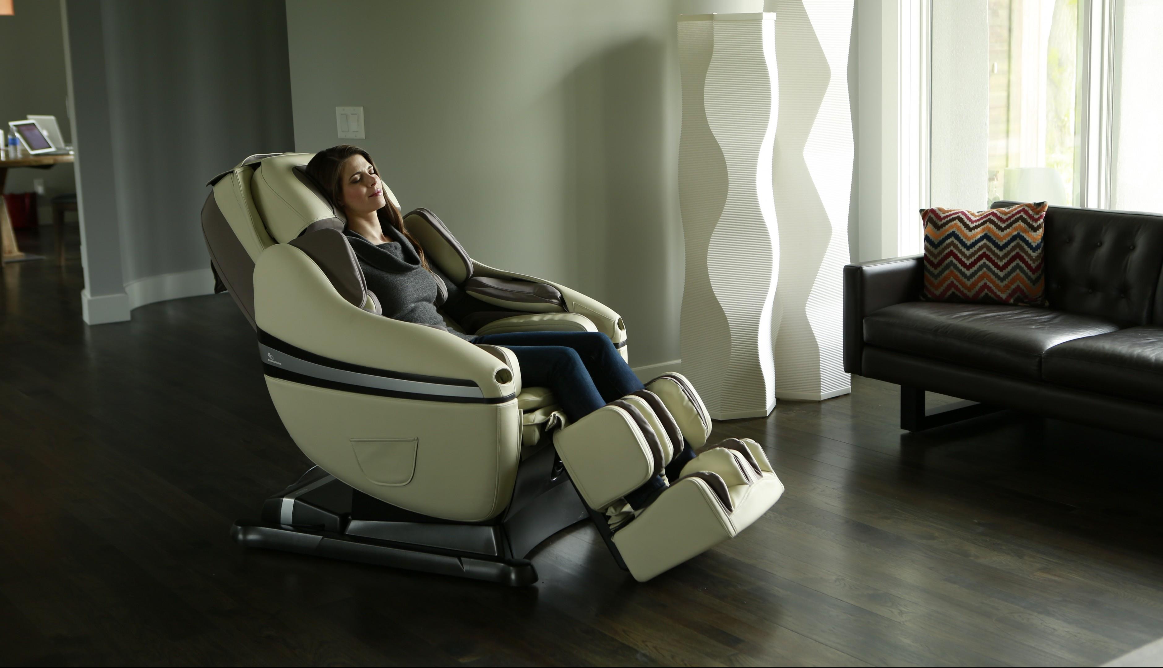 Массажное кресло дома - прекрасное средство для восстановления душевного равновесия